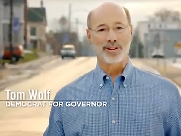 York County businessman Tom Wolf has pumped millions into his own campaign, flooding the airwaves with early ads. According to the latest survey, he has jumped from last to first in the race.