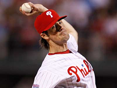 Cole Hamels will use spring training to rebound from a disappointing season. (Ron Cortes / Staff Photographer)
