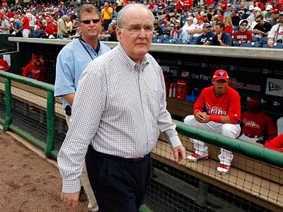 Phillies president and chief executive officer David Montgomery. (Gene J. Puskar/AP file photo)