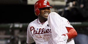 Ryan Howard ruptured an Achilles´ tendon in the playoffs. (Yong Kim/Staff file photo)