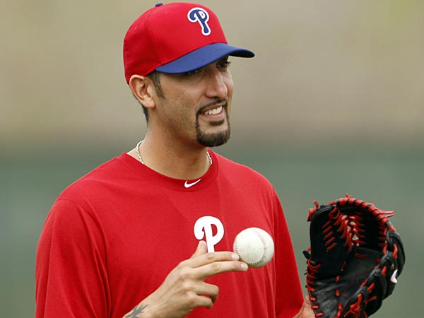 Phillies pitcher Mike Adams. (Yong Kim/Staff Photographer)