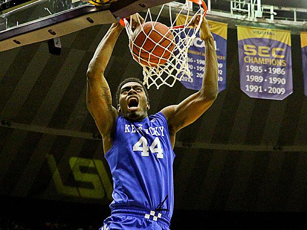 Kentucky center Dakari Johnson. (Derick E. Hingle/USA Today Sports)