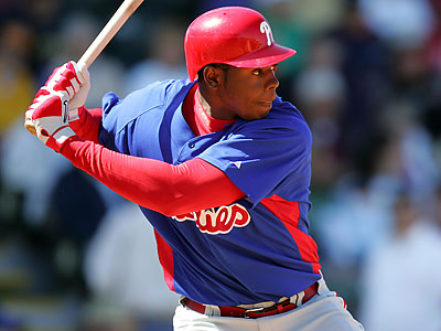 Outfielder John Mayberry Jr. could join the Phillies on Tuesday. (David Swanson/Staff file photo)