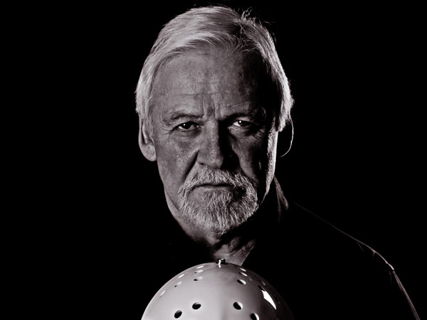 Hall of Fame goalie Bernie Parent.