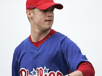 """I can´t walk away from those 21 wins"" in 50 starts, Rich Dubee said of Kyle Kendrick. (Eric Mencher/Staff Photographer)"