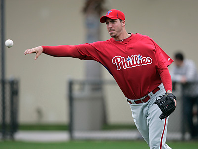 Phillippe Aumont has been sent to minor-league camp. (David Swanson/Staff file photo)