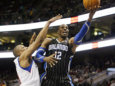 The Sixers will look to maintain Dwight Howard tonight in Orlando. (H. Rumph Jr./AP)