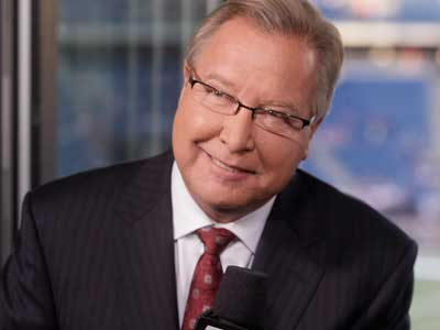 "Ron Jaworski will no longer be a part of the broadcast booth for ""Monday Night Football."" (AP Photo/Steven Senne)"