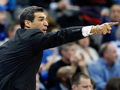 Jay Wright has taken ´Nova to the Sweet 16 four times in the last six years, but have struggled at times this year. (Mel Evans/AP Photo)