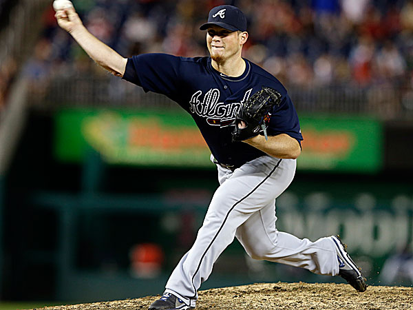 Braves relief pitcher Craig Kimbrel. (Alex Brandon/AP)