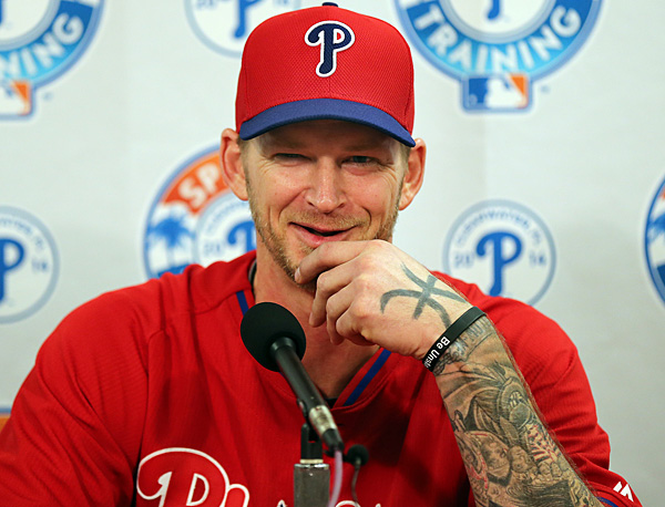Phillies pitcher A.J. Burnett. (David Maialetti/Staff Photographer)