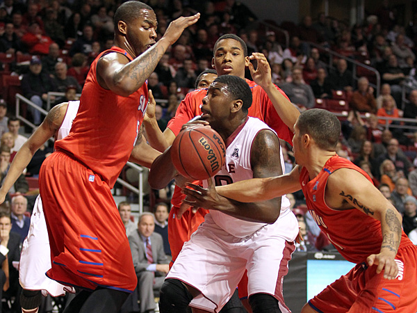 Temple upsets No. 23 SMU, 71-64 - philly-archives