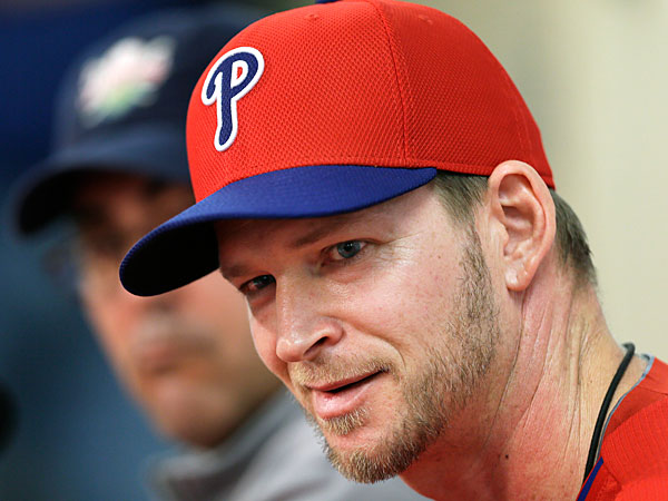 Philadelphia Phillies pitcher A.J. Burnett. (Charlie Neibergall/AP)