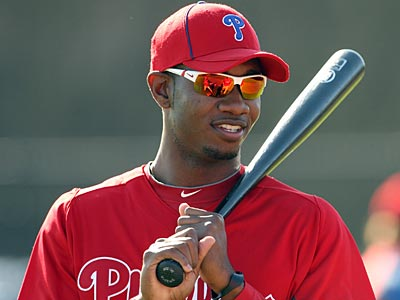 Domonic Brown is battling to become the Phillies Opening Day starter in right field. (Yong Kim/Staff Photographer)