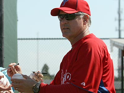 Ryne Sandberg coached Lehigh Valley this past season and could be in the majors as a manager in 2012. (Yong Kim/Staff file photo)
