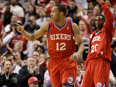 The Sixers´ Evan Turner is represented by super-agent David Falk. (Matt Slocum/AP)