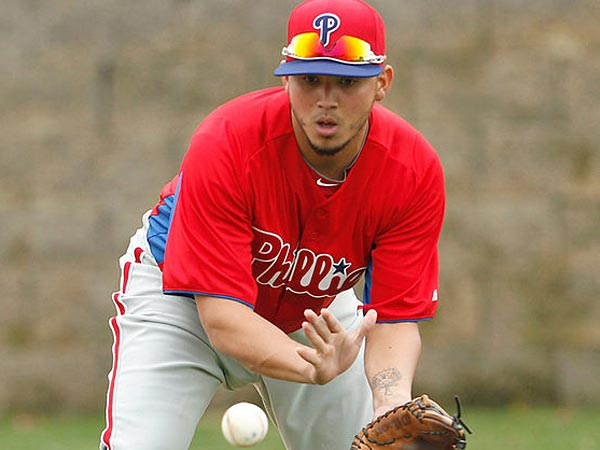Phillies infielder Freddy Galvis. (Yong Kim/Staff Photographer)