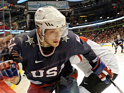 Cherry Hill native Bobby Ryan plays for the U.S. Men&acute;s Hockey Team. ( Clem Murray / Staff Photographer )<br />