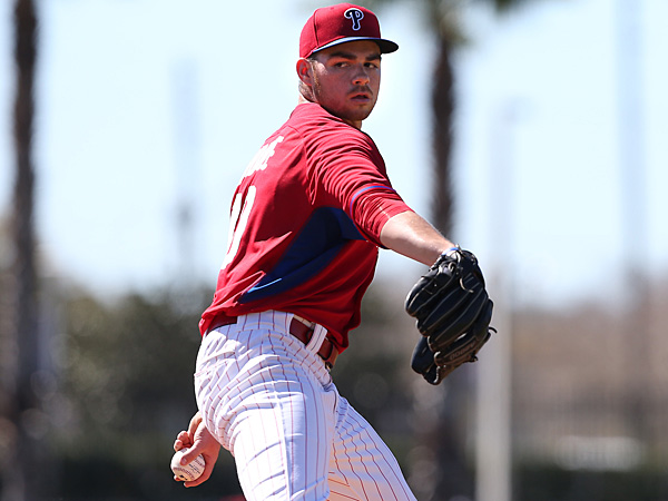 Phillies pitching prospect Jesse Biddle. (David Maialetti/Staff Photographer)