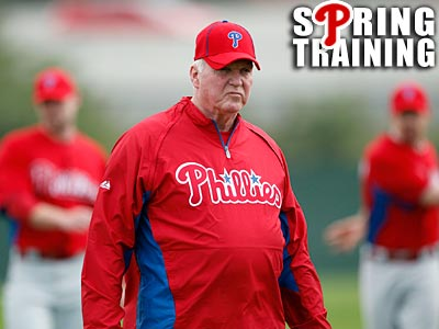 """I´m excited about our team. I´m excited about our pitching staff."" Phillies manager Charlie Manuel said. (Yong Kim/Staff Photographer)"