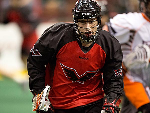 Kyle Hartzell is a four-year veteran of the National Lacrosse League. (Photo via Philadelphia Wings)