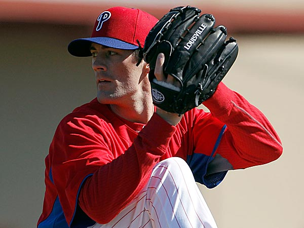 Cole Hamels could be in line for first Opening Day start of his career. (Yong Kim/Staff Photographer)
