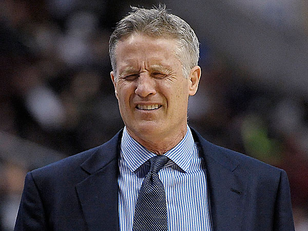 76ers head coach Brett Brown. (Michael Perez/AP)
