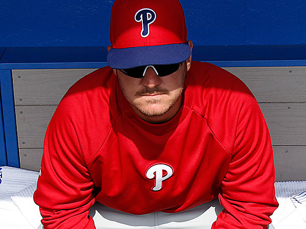 Phillies catching prospect Tommy Joseph. (David Maialetti/Staff Photographer)