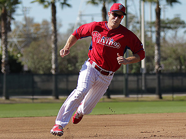 Phillies second baseman Chase Utley. (David Maialetti/Staff Photographer)