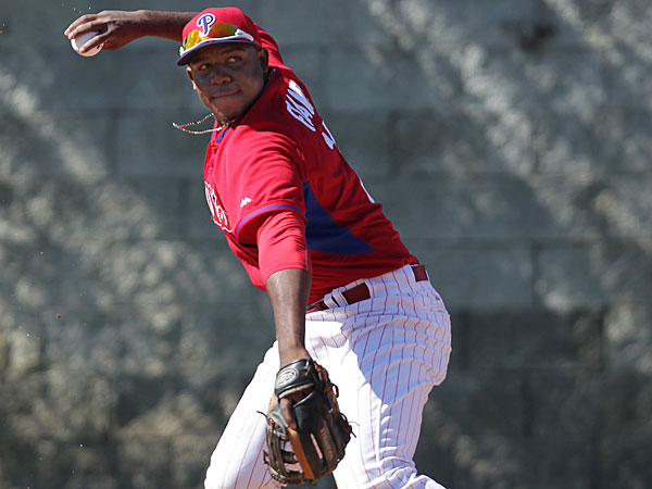 Phillies prospect Maikel Franco. (David Maialetti/Staff Photographer)