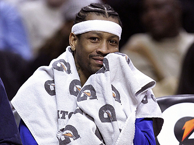 Allen Iverson is out ´´indefinitely,´´ beginning with Tuesday´s game at Golden State. (Charles Rex Arbogast/AP file photo)
