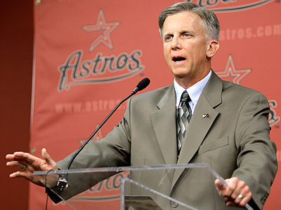 The Phillies received Pence and Oswalt from the Astros while Ed Wade was managing. (AP Photo/David J. Phillip)