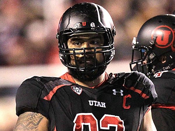 Utah defensive lineman Star Lotulelei is high on most draft lists. (Rick Bowmer/AP)