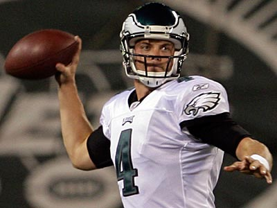 Kevin Kolb is under contract with the Eagles through 2012. (Yong Kim/Staff File Photo)
