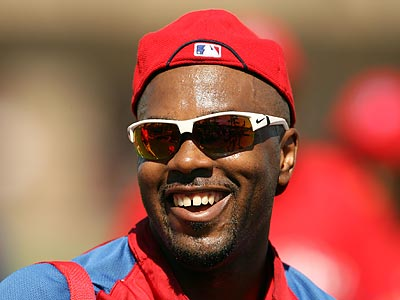 In his annual prediction, Jimmy Rollins said the Phillies would win over 100 games. (Yong Kim/Staff Photographer)