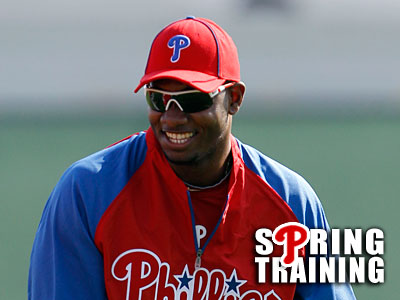 Domonic Brown hopes to win a spot on the Phillies´ opening day roster. (Yong Kim/Staff Photographer)