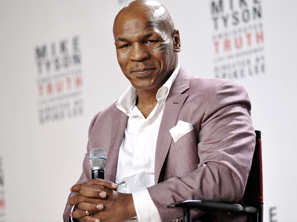 Mike Tyson. (Photo by Evan Agostini/Invision/AP, File)