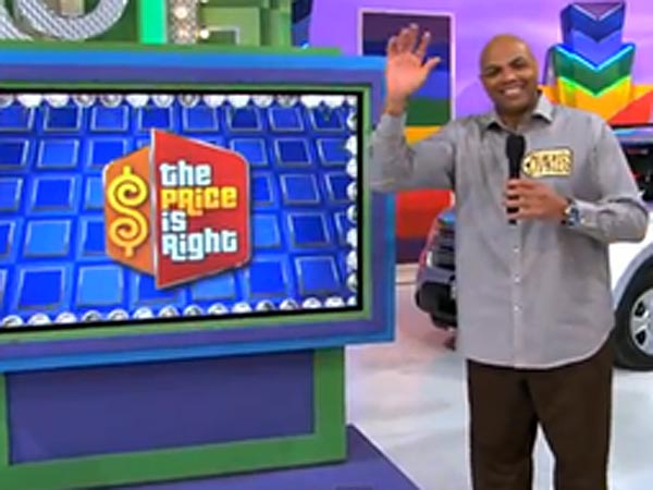 Charles Barkley makes his debut on the Price is Right just one day after his 50th birthday.