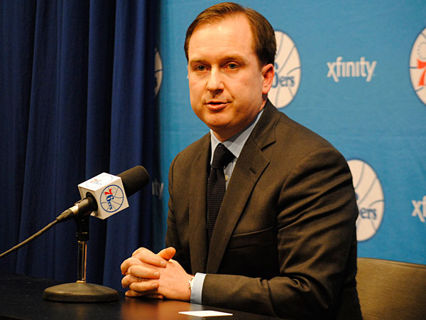 Sixers general manager Sam Hinkie. (Gabriela Barrantes/Staff Photographer)