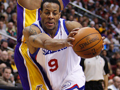 Andre Iguodala got three votes from players in SI´s poll. (Ron Cortes/Staff file photo)