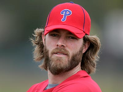Jayson Werth talked about his contract today, but not about his new beard. (David Swanson / Staff Photographer)