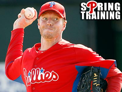 Roy Halladay played in only two postseasons in his 14-year career so far. (Yong Kim/Staff Photographer)