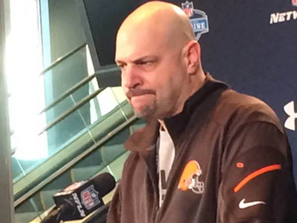 New Cleveland Browns coach Mike Pettine. (Les Bowen/Staff)