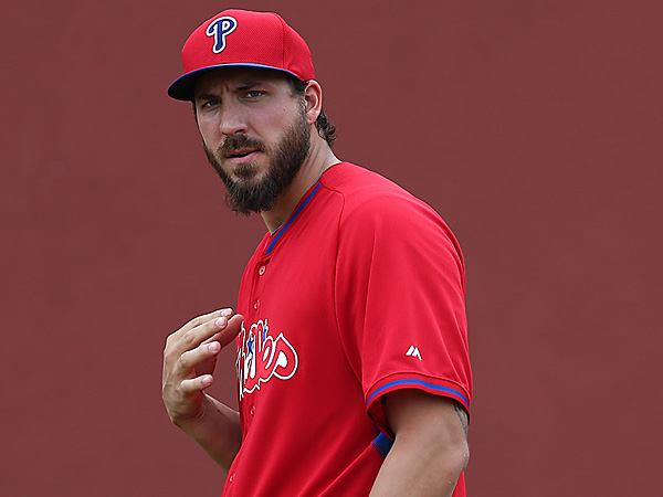 Phillies pitcher Phillippe Aumont. (David Maialetti/Staff Photographer)
