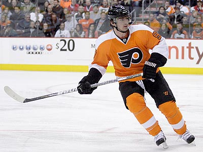 Nikolay Zherdev has 15 goals for the Flyers this season. (Yong Kim/Staff Photographer)
