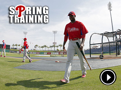 Domonic Brown is ticketed for triple-A, unless he can convince the Phillies otherwise. (Yong Kim / Staff Photographer)
