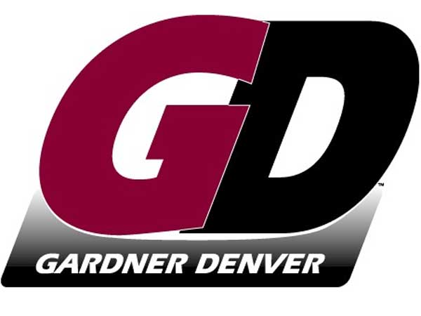 Gardner Denver corporate logo.