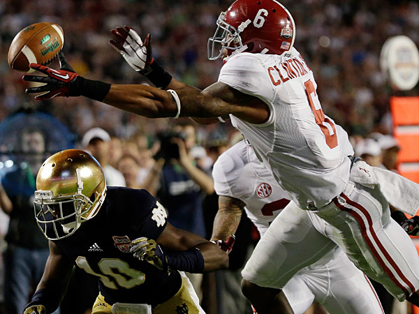 Alabama´s Ha´Sean Clinton-Dix. (AP Photo/David J. Phillip)