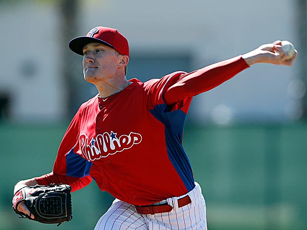 Jake Diekman is right in the middle of the competition and there are three spots are open in the Phillies´ bullpen. (Yong Kim/Staff Photographer)