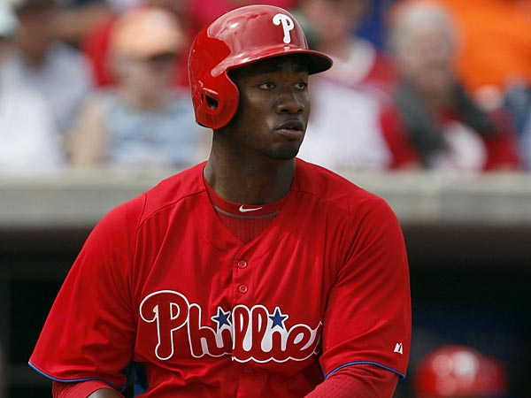 Phillies outfielder Domonic Brown. (Yong Kim/Staff Photographer)